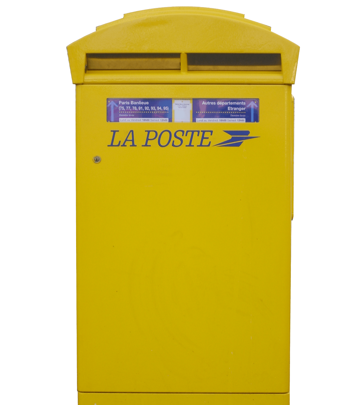 Transfert du courriers